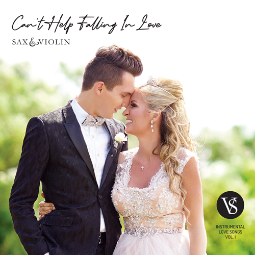 "CD Album ""Can't Help Falling in Love"""